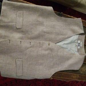 Joseph Abboud Linen Vest